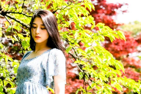 鶴ヶ城での撮影