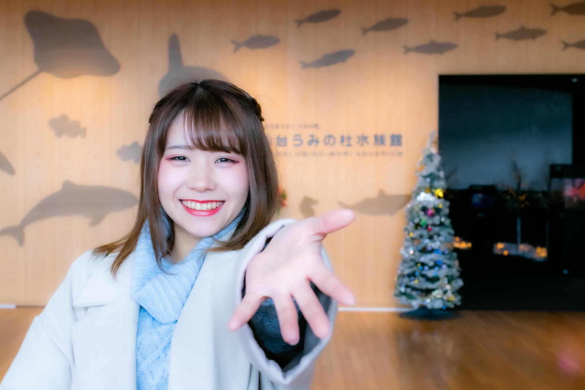 仙台海の杜水族館:卯月紅葉さん|シグマ Art 30mm F1.4 DC HSMのレンズレビュー
