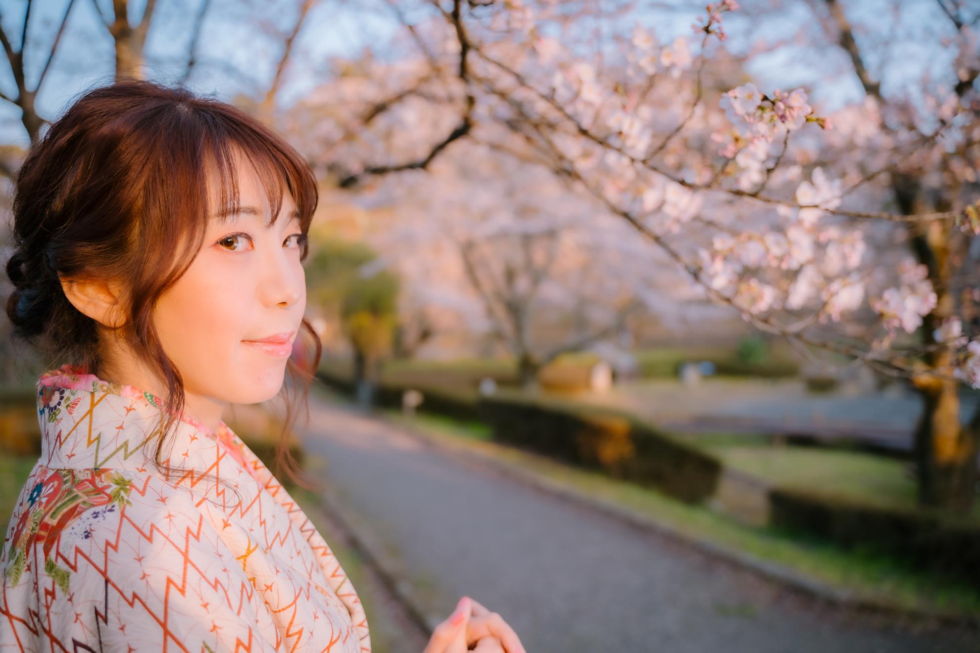 須賀川 翠ケ丘公園での袴撮影